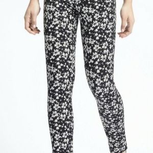 Banana Republic Sloan fit floral print pants